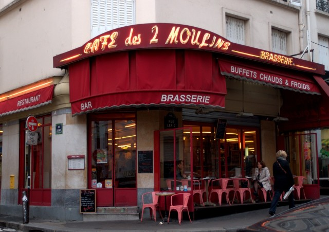 Das Café des 2 Moulins in Paris