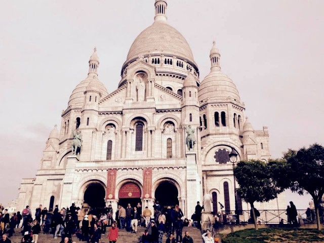 Basilika Sacré-Coeur in Paris