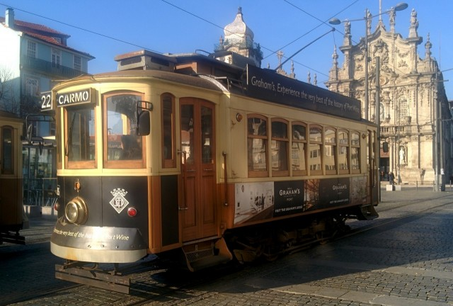 Historische Straßenbahn Porto