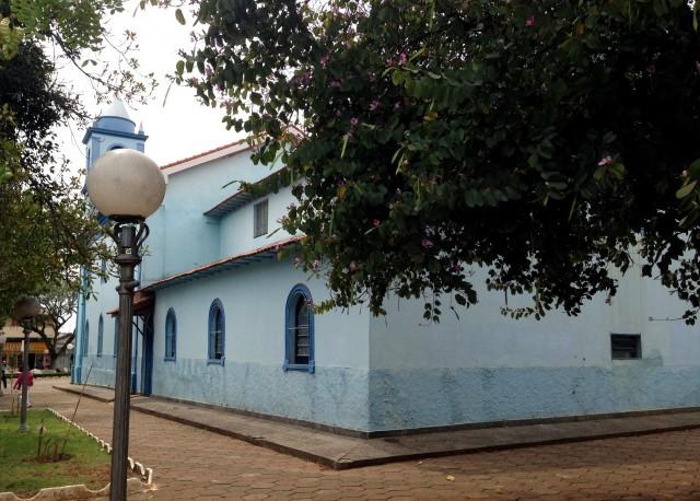 Blaue Kirche in Itapetininga