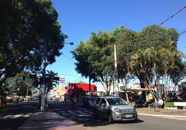 Straße in Itapetininga