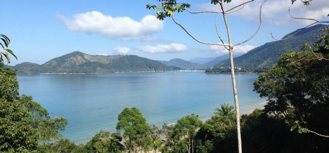 Aussicht auf das Meer in Brasilien