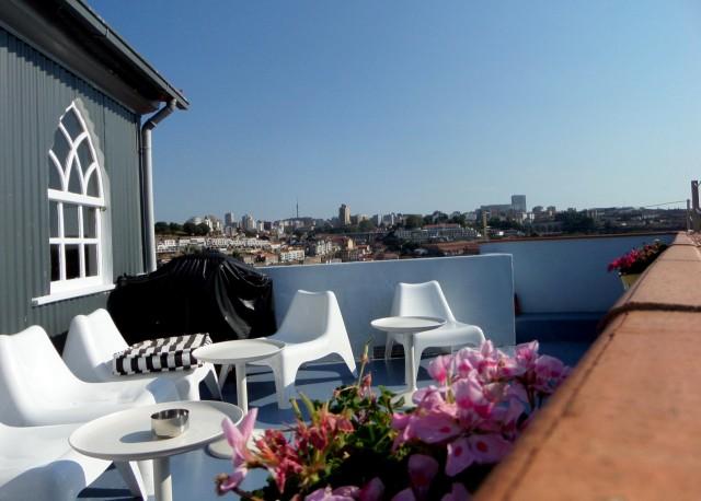 Dachterrasse, Dixo's Oporto Hostel