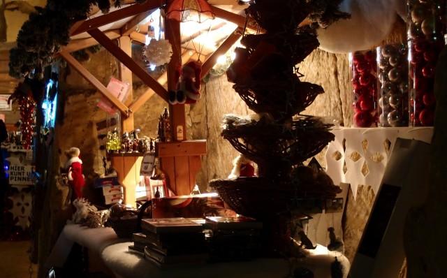 Weihnachtsmarkt in der Grotte