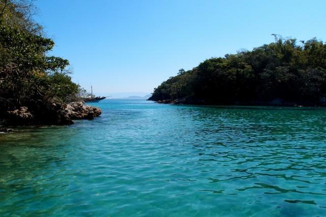 Lagoa Azul, Bucht auf der Ilha Grande