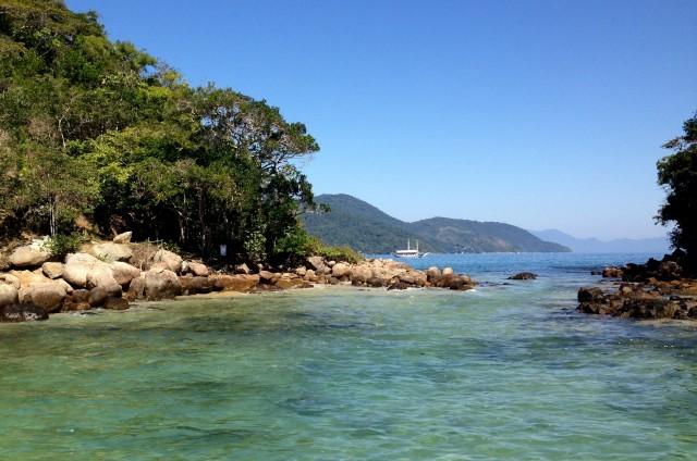 Lagoa Verde, eine Bucht auf der Ilha Grande