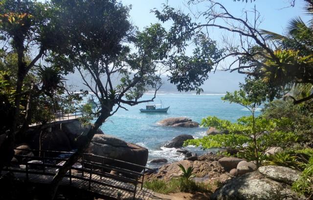 Weg zum Strand, Praia do Aventureiro