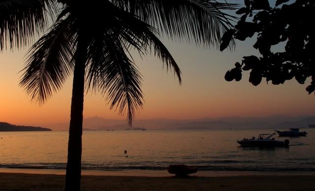Sonnenuntergang auf der Ilha Grande