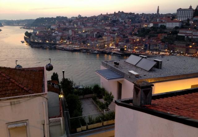Sonnenuntergang Porto