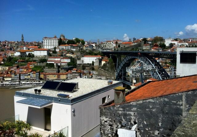 Blick vom Jardim do Morro