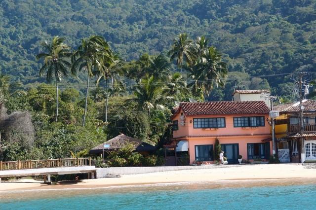 Vila do Abraao, der Hauptort der Ilha Grande