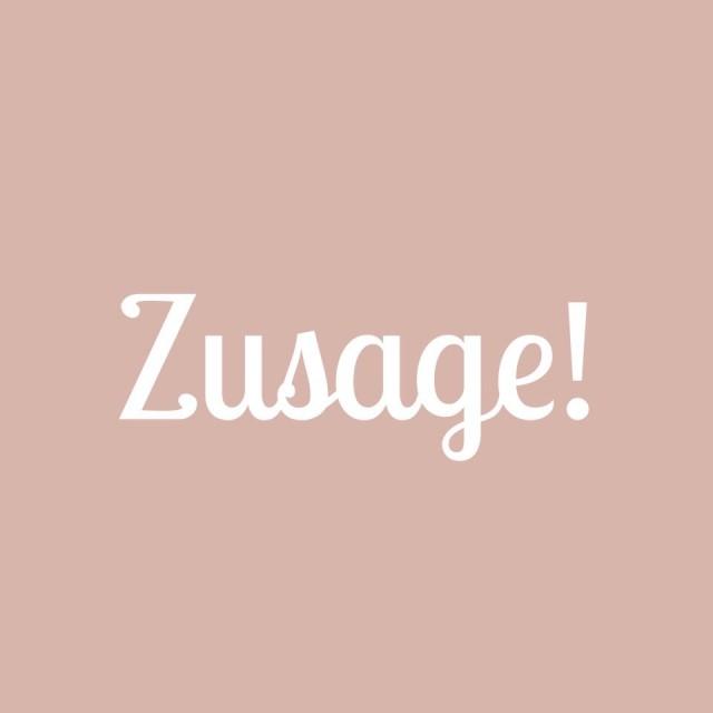 Zusage
