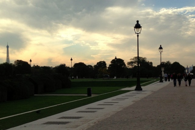 Sonnenuntergang, Paris