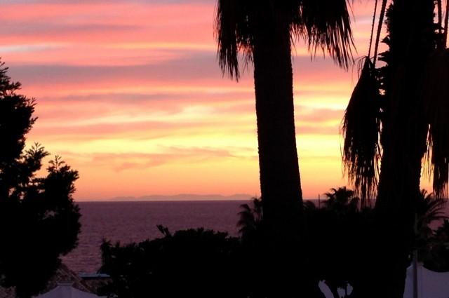 Blick auf Afrika, Playa Marina