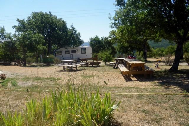 Campingplatz Mallefougasse