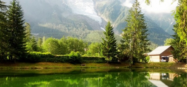 Chamonix-Mont-Blanc und ein Lunch am Straßenrand